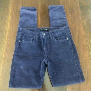 "Joe""s Jeans Skinny Visionaire Purple Corduroy Pant"